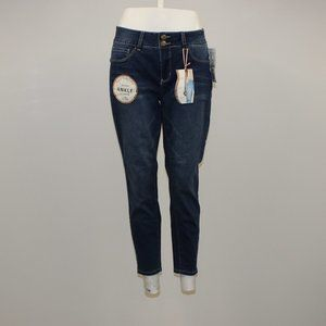 Royalty for me Mid Rise Ankle Jeans